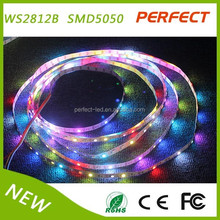 Hot selling! many color digital led stip led flexible strip light 5050rgb 5v ws2812b with best price