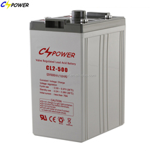 2v 500ah VRLA UPS storage lead acid battery(CL2-500)