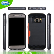 Brushed shockproof armor mobile phone case for samsung galaxy s7 s7 edge