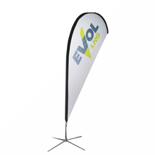 display outdoor advertising fire retardant banners beach flag feather flag