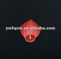 promotional and traditional chinese kongming lantern with fireretardant and fireproofed paper