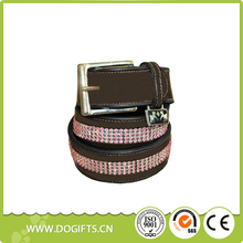 Pet Collar Puppy Collar Equine Couture Bling Leather Belt Dog Leashes and Collars Dogift0753