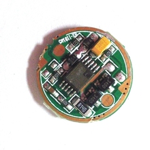 1050mA 1 mode small printed circuit board for hunting flashlight