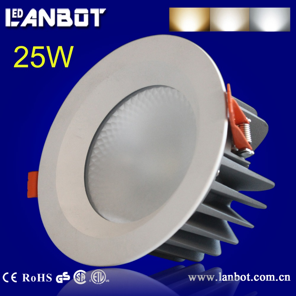 Indoor lighting CRI80 5inch recessed ul listed led downlight