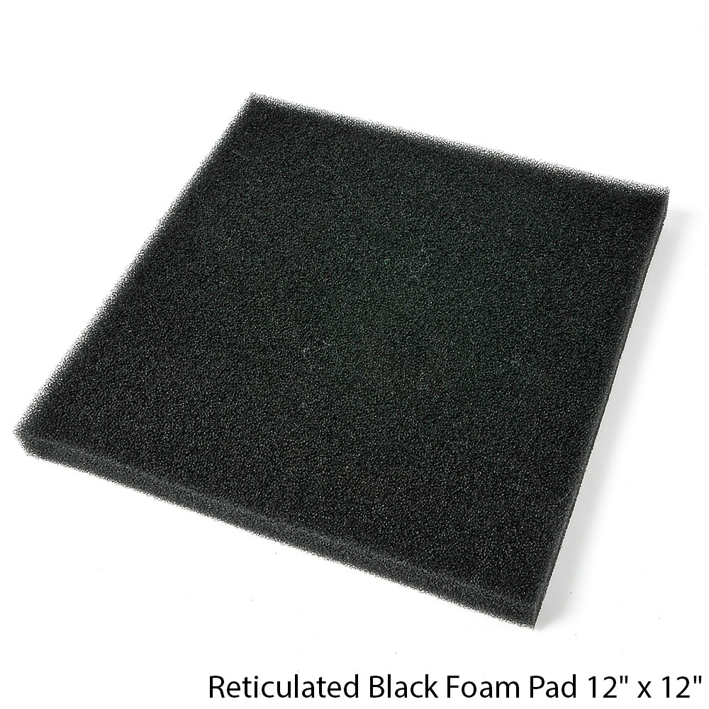 40 PPI Polyurethane PP Reticulated Filter Foam