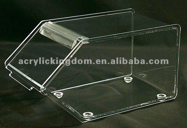 Clear acrylic candy display case