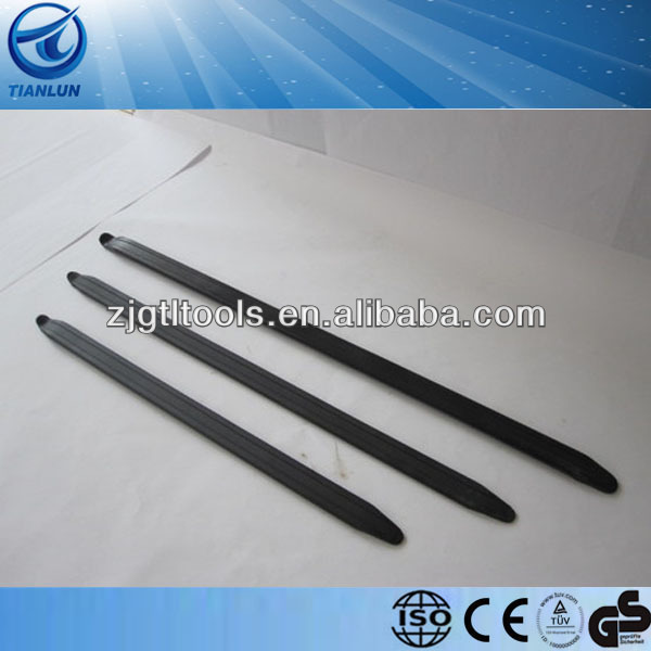 Combo kit Steel galvanize crow bar Tire Iron Pry Bar Tire iron lever for car Tiron bar for building construction Auto repair too
