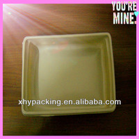 New design high quality PVC/PET material large plastic tray