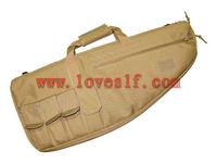 Multifunction waterproof tactical Gun bag/Tactical Scoped Rifle Long Gun Case Padded Carry Bag