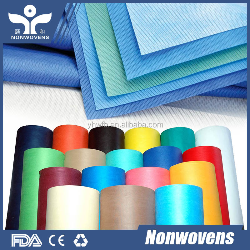 Factory Price PP Spunlace Non Woven Fabric/Disposable Non Woven Table Cloth/Table Cover For Wedding
