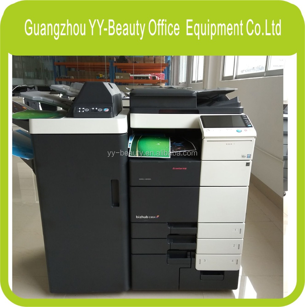Copiers in colour and black & white,second hand photocopiers for konica minolta Bizhub C654e c754e machines
