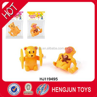 Plastic Toys Wind Up Animals, Wind Up Toys Animals Bear/Monkey For Kids Toys HJ119495