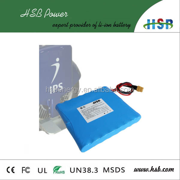 60v unicycle battery pack lithium battery 60v li-ion 2.2Ah 18650 battery with Bis Ce Rohs Un38.3