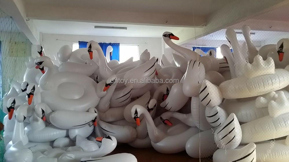 High Quality Inflatable Swan Pool Float For adult