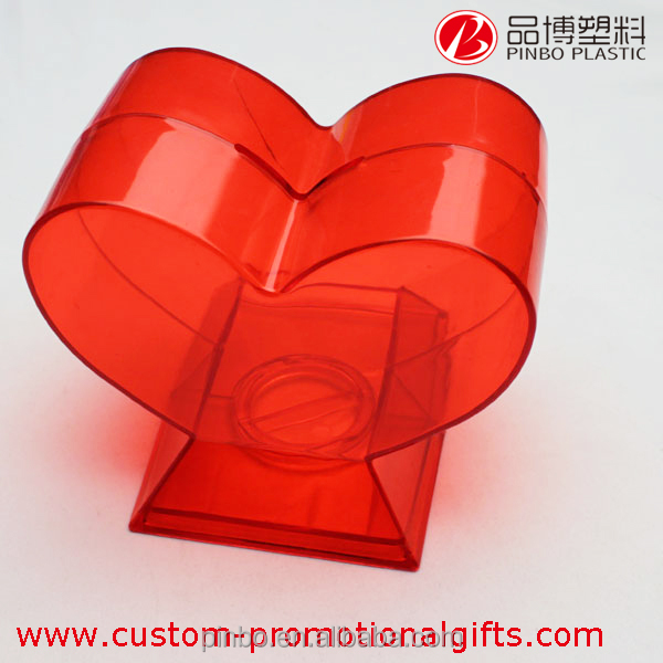 heart-shaped piggy bank,high quality DIY design transparent piggy bank,large plastic piggy banks for kids