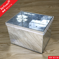 Square Flower Box Luxury / Acrylic Mirror Box