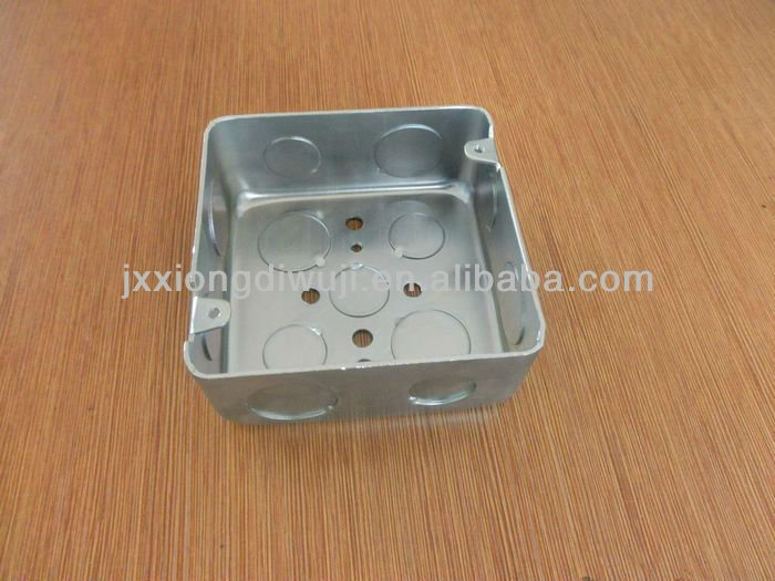 "Jiaxing Brothers NEW 4"" SQUARE STEEL BOX DEEP 1 7/8"""