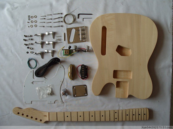 Hot sales diy unfinished electric bass guitar kits