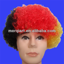 Factory direct sell football wig football fan wig synthetic wig