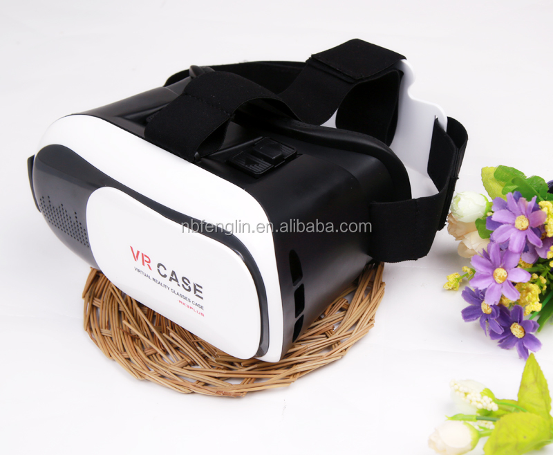 Best price VR box 2.0 3D glasses case for Android and ios smart phones