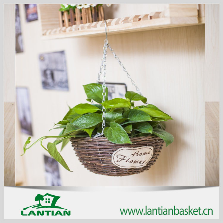 wicker hanging baskets wholesale