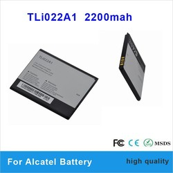 2200mah gb/t18287-2000 battery for Alcatel TLi022A1 orginal battery batteria altilium