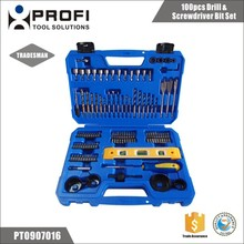 Alibaba china supplier 100pcs electrical screwdriver and ladies drill set for drilling