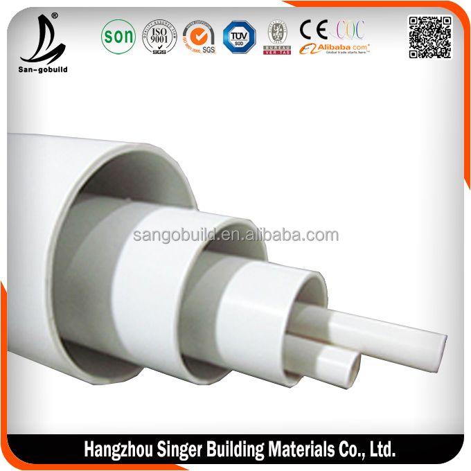 Low price irrigation pipes, high quality water pipe 4 inch plastic