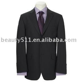 Two Button Plain Navy Single Breasted Mens Suit mr-5