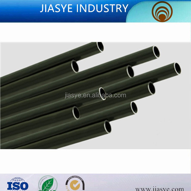 ASTM A254 ST15 6.35*0.5mm PVF coated double wall steel pipe bundy pipe for brake pipe line of automobile