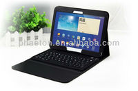 Bluetooth Keyboard PU Leather Case Cover For Samsung Galaxy Tab3 10.1 P5200