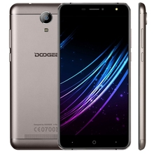 100% original unlocked brand new DOOGEE X7 global version telefone celular, 6.0 inch 2.5D Android 6.0 Quad Core mobile phone