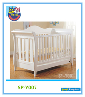 Solid pine wooden baby cot,baby crib,baby cradle