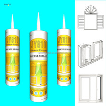 Door & Window or General Purpose Weather Resistant Silicone Sealant Glass Cement
