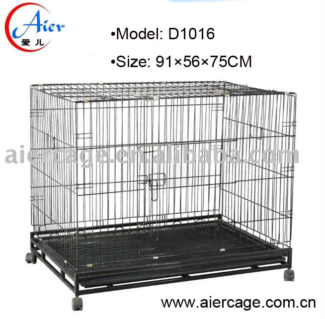 High quality pet medium crates for dogs crate square tube