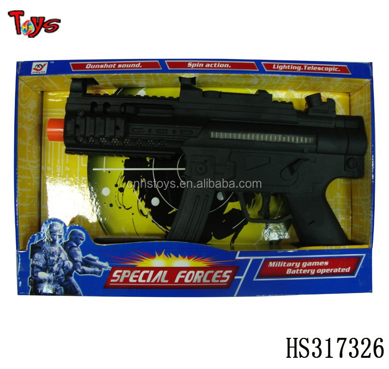 electronic customized cap inflatable toy gun
