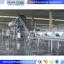 fruits and vegetables quick freezing production processing line