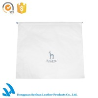 Senhan beautiful custom logo drawstring fabric dust bag covers for handbags
