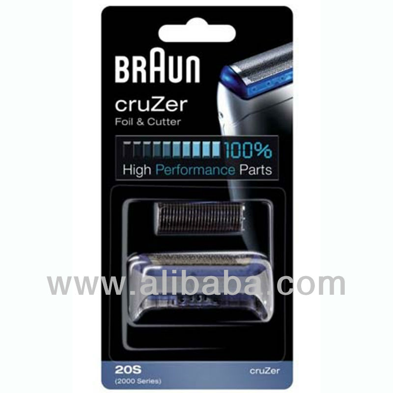 BRAUN Shaver 20S Foil & Cutter Replacement 2000 Series Cruzer
