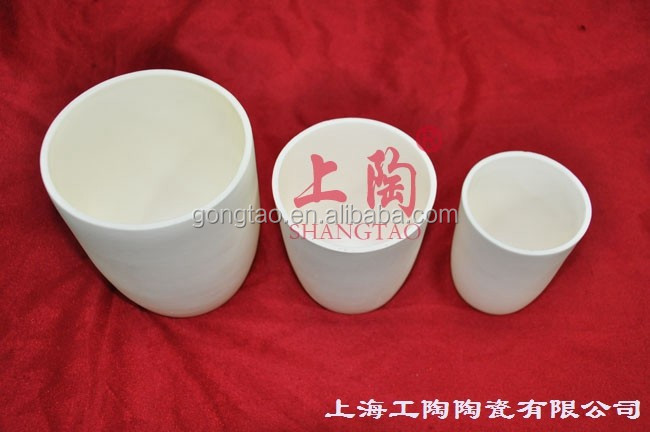 Bowl Shape Alumina Crucibles