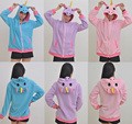 Polar fleece wholesale unicorn hoodie with 3 colours adult unicorn hoodie
