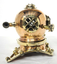 copper mini diving helmet