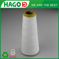 Nm 34(ne 20s) blended polyester cotton space dyed yarn in open end yarn