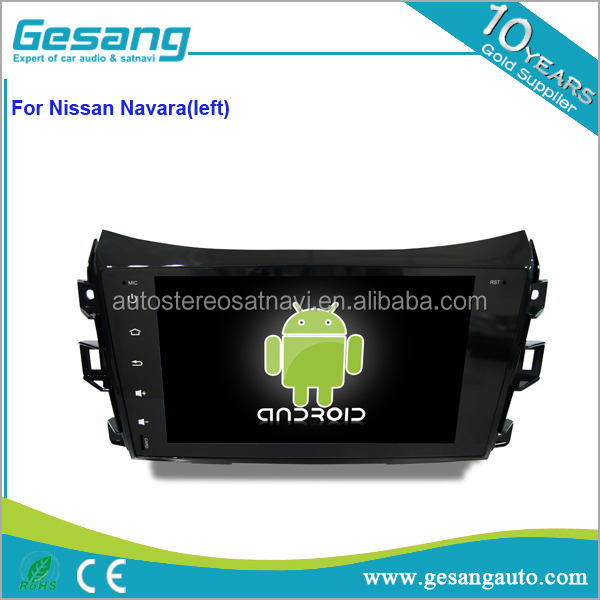 Gesang HD touch screen auto DVD player for Navara(left) with Quad Core Rockchip 3188 1080P 16g ROM WiFi 3G