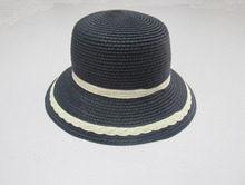 summer sun proof wide brim in natural grass bucket hat