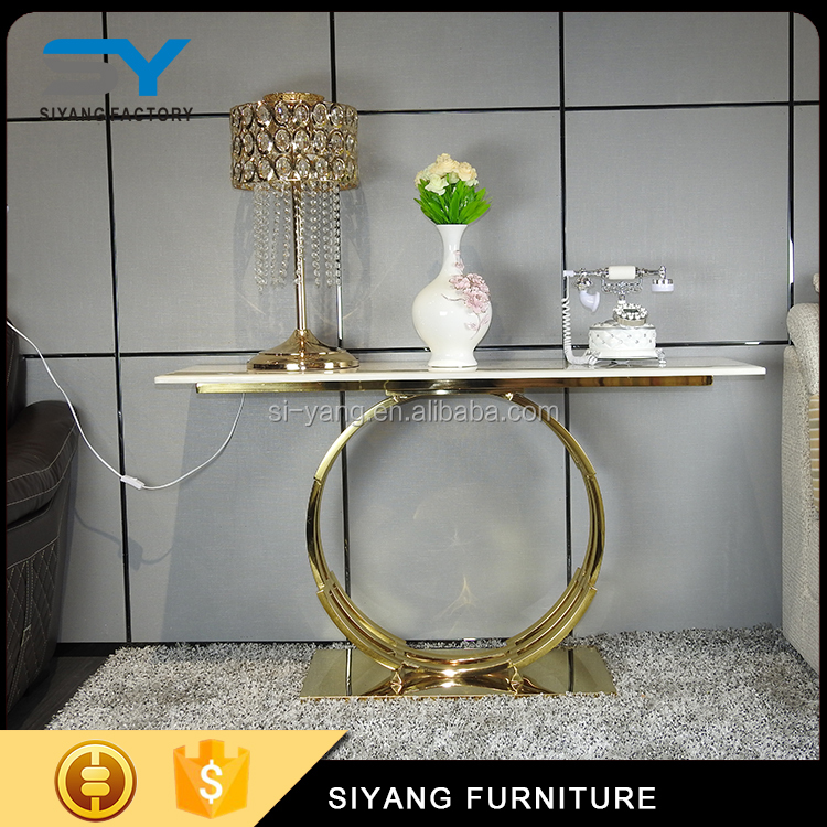 Elegant contemporary console tables sofa table for sale XG005