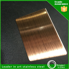 stainless steel no 4 finish for decoration
