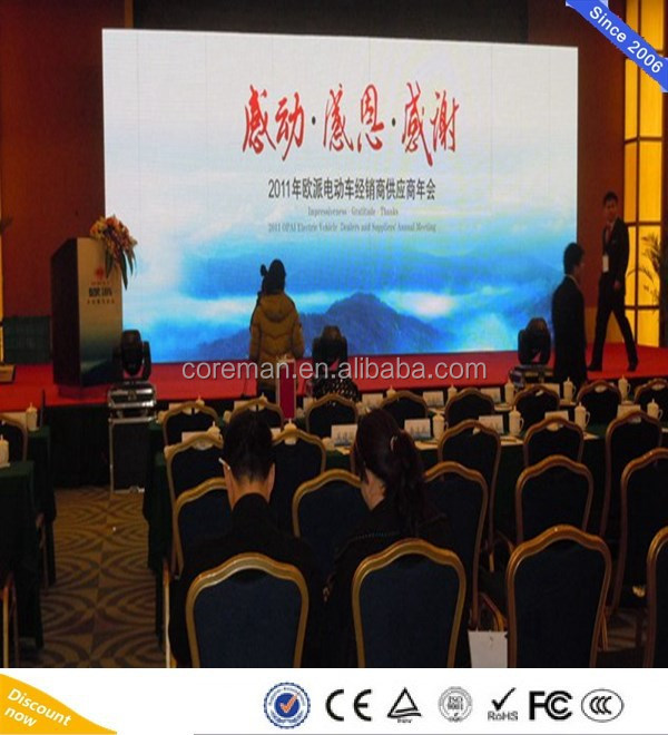 P6 P5 Indoor Stage Background LED Display Board / rental indoor P4 P5 P6 fullcolor led screen
