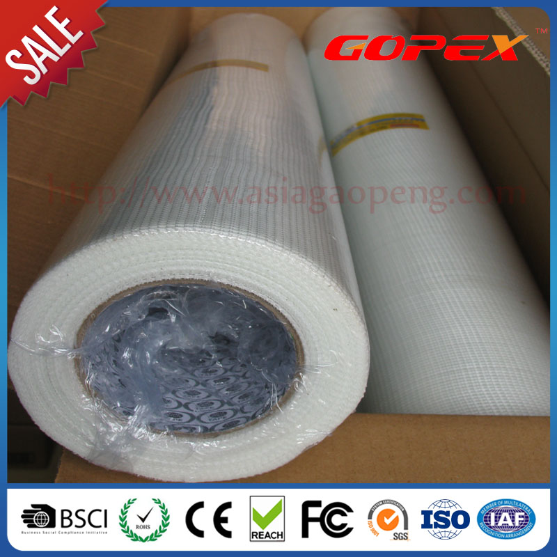 Waterproof fiberglass mesh for wall
