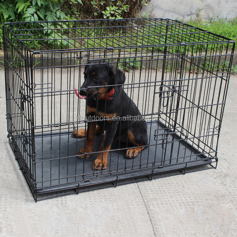 New design foldable large dog cage dog crate for sale